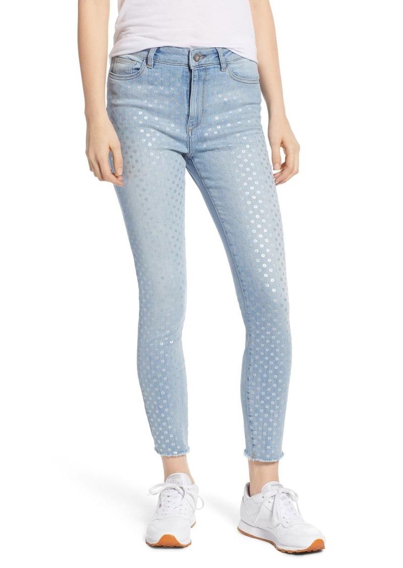 DL 1961 Farrow High Waist Ankle Skinny Jeans (Klein)