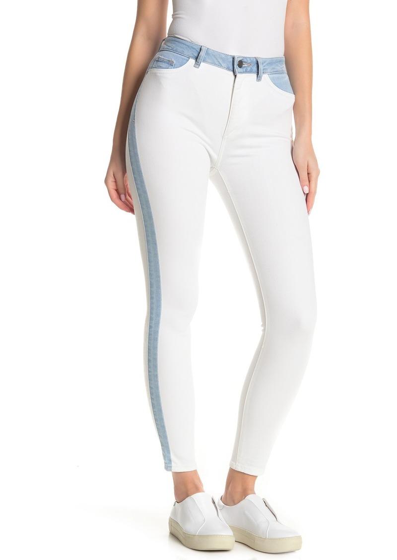 DL 1961 Farrow High Waist Crop Skinny Jeans (Abis)