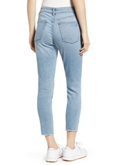DL 1961 Farrow Instaslim Ripped High Waist Crop Skinny Jeans
