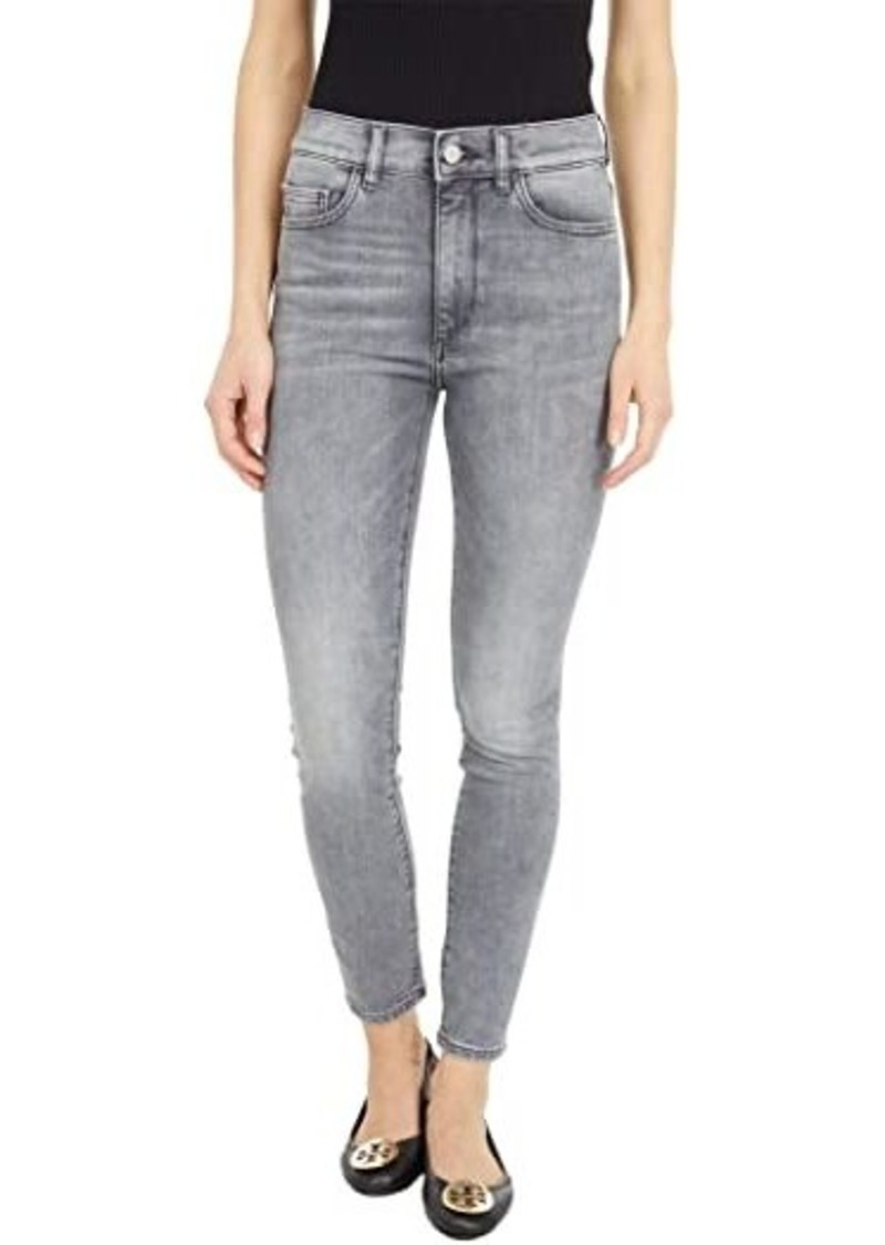 DL 1961 Farrow Skinny High-Rise Instasculpt Ankle in Greystone