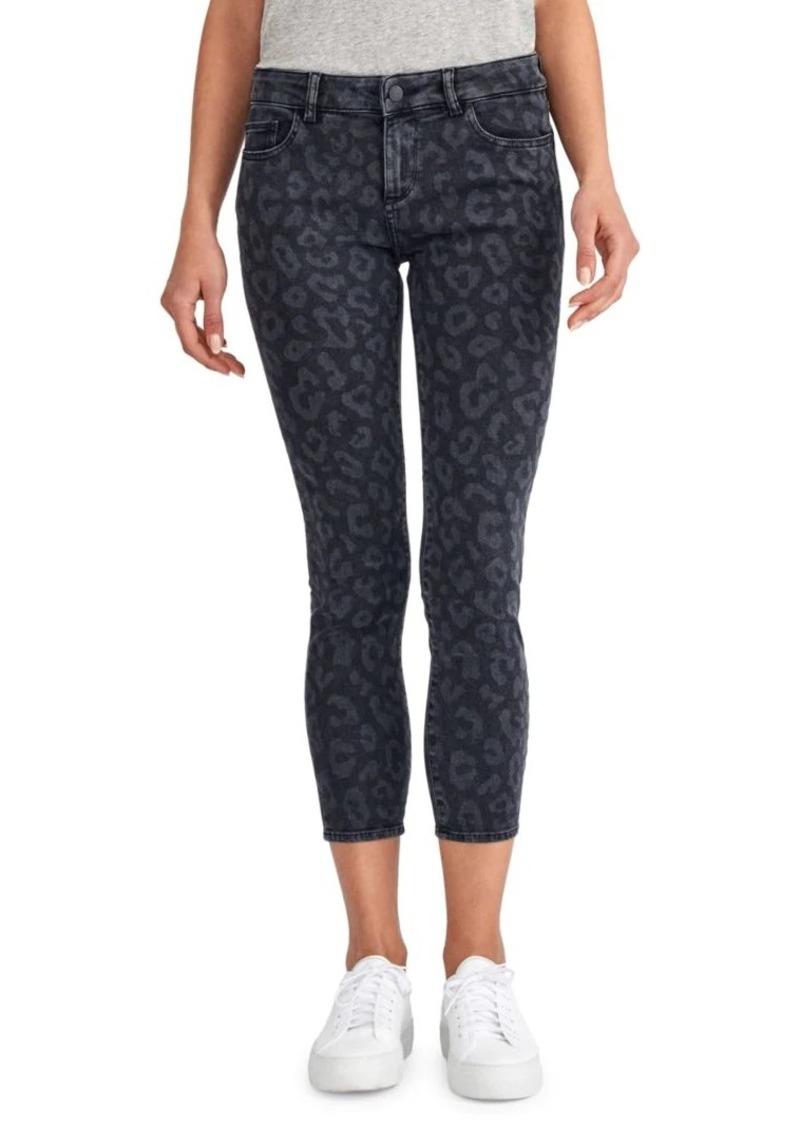 DL 1961 Flo Leopard Crop Jeans