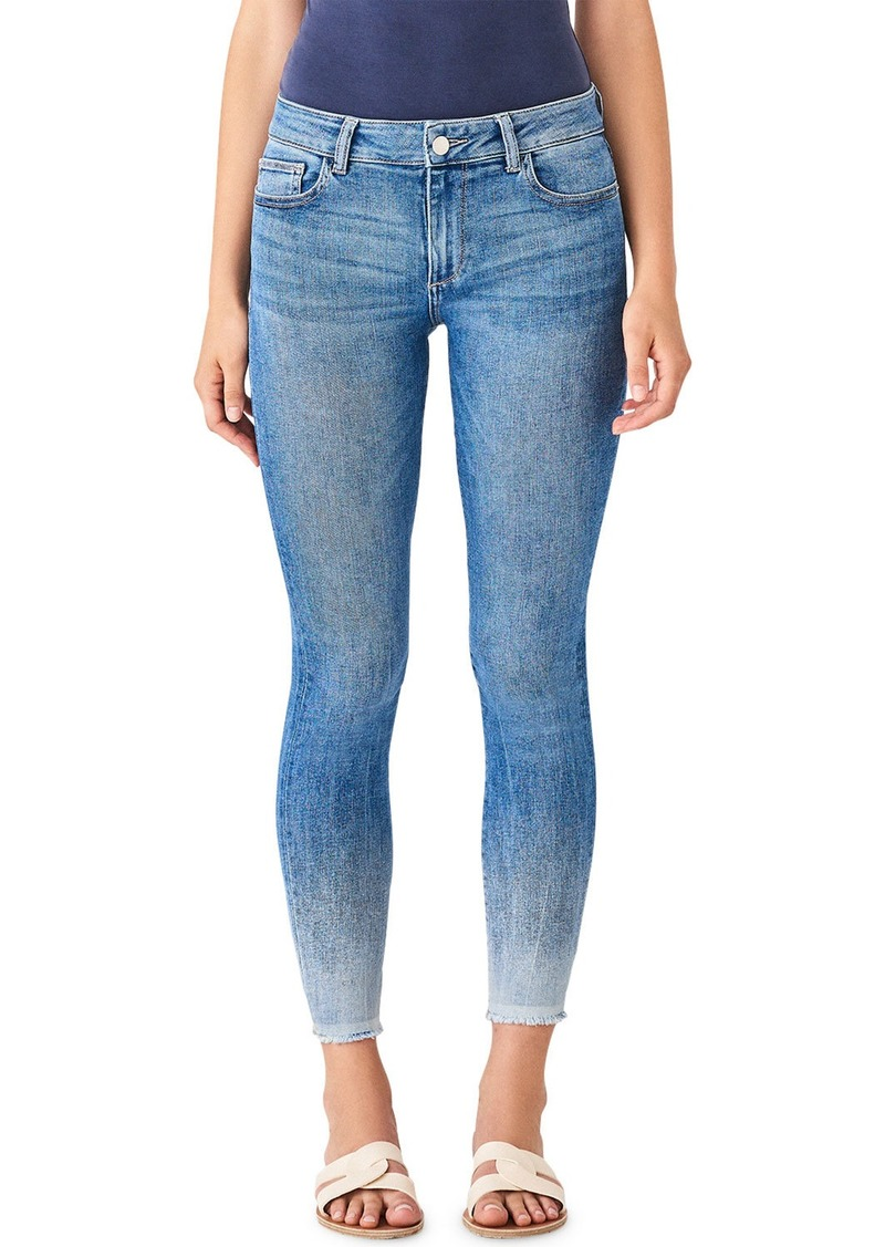DL 1961 Florence Ankle Mid-Rise Crop Skinny Jeans