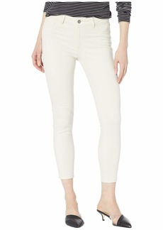 DL 1961 Florence Crop Mid-Rise Skinny in Ivory