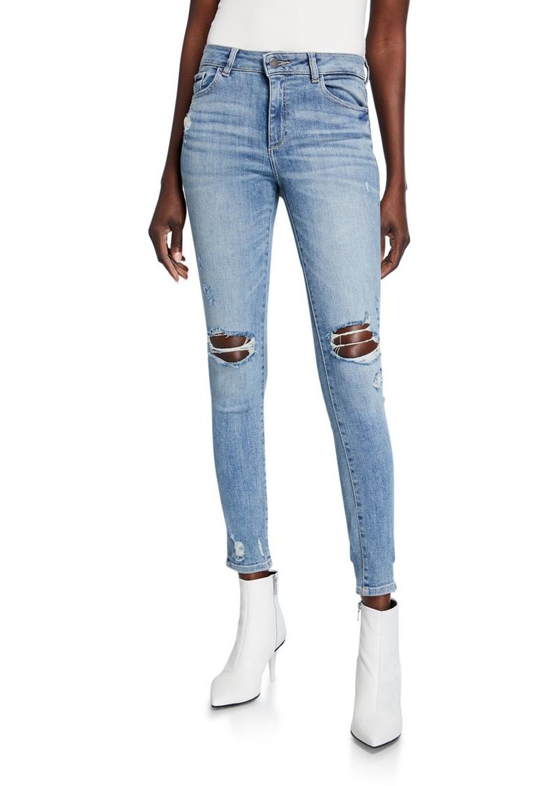 DL 1961 Florence Destroyed Instasculpt Skinny Jeans