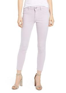 DL 1961 Florence Instasculpt Raw Hem Crop Skinny Jeans