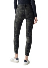 DL 1961 Florence Mid-Rise Camo Skinny Jeans