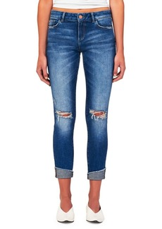 DL 1961 Florence Mid-Rise Crop Skinny Jeans