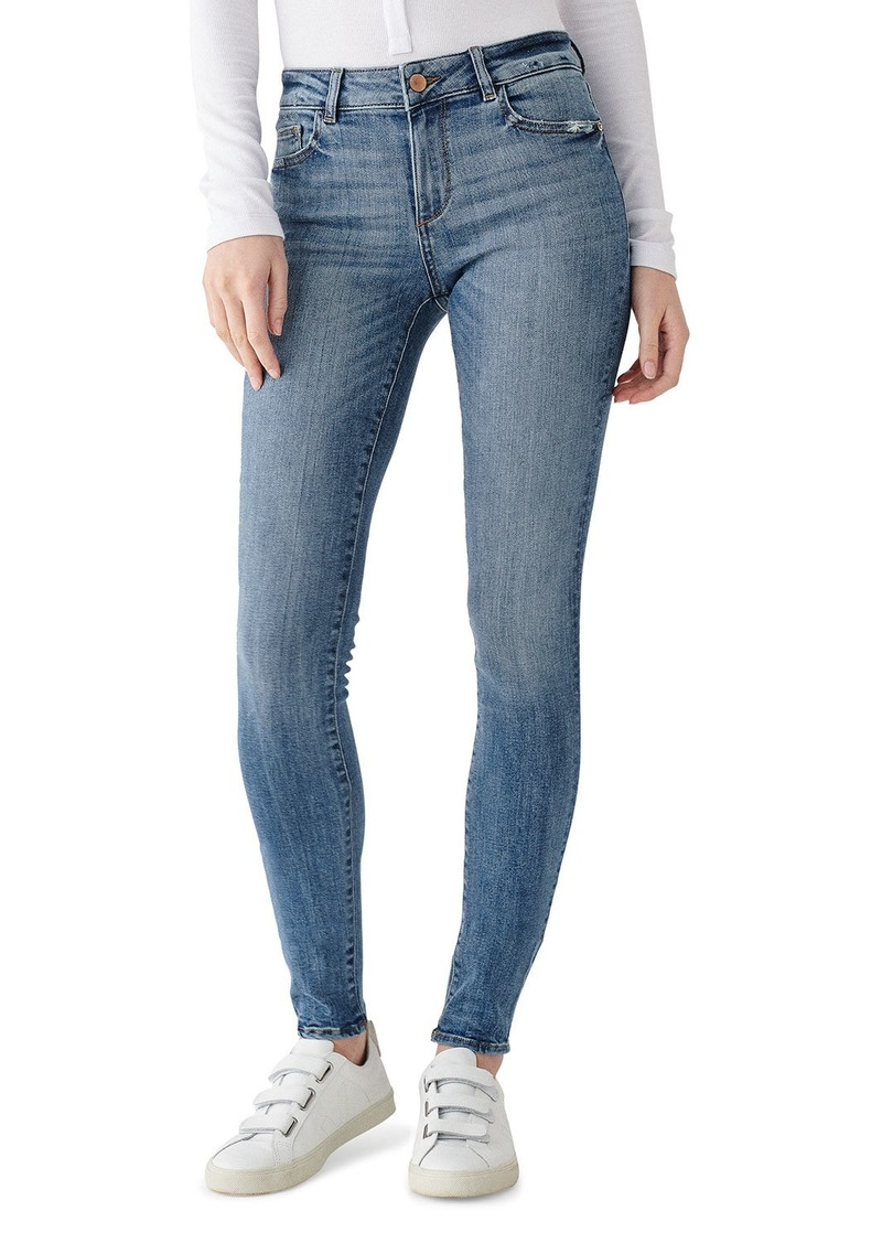 DL 1961 Florence Mid-Rise Skinny Jeans