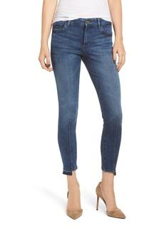 DL 1961 Florence Mid Rise Step Hem Crop Skinny Jeans