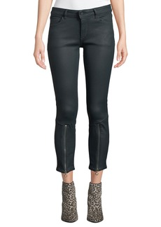 DL 1961 Florence Painted Crop Jeans