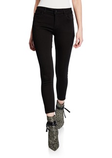 DL 1961 Florence Skinny Cropped Jeans  Hail
