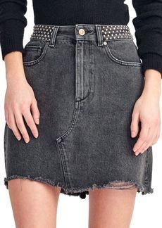 DL 1961 Georgia Denim A-Line Skirt