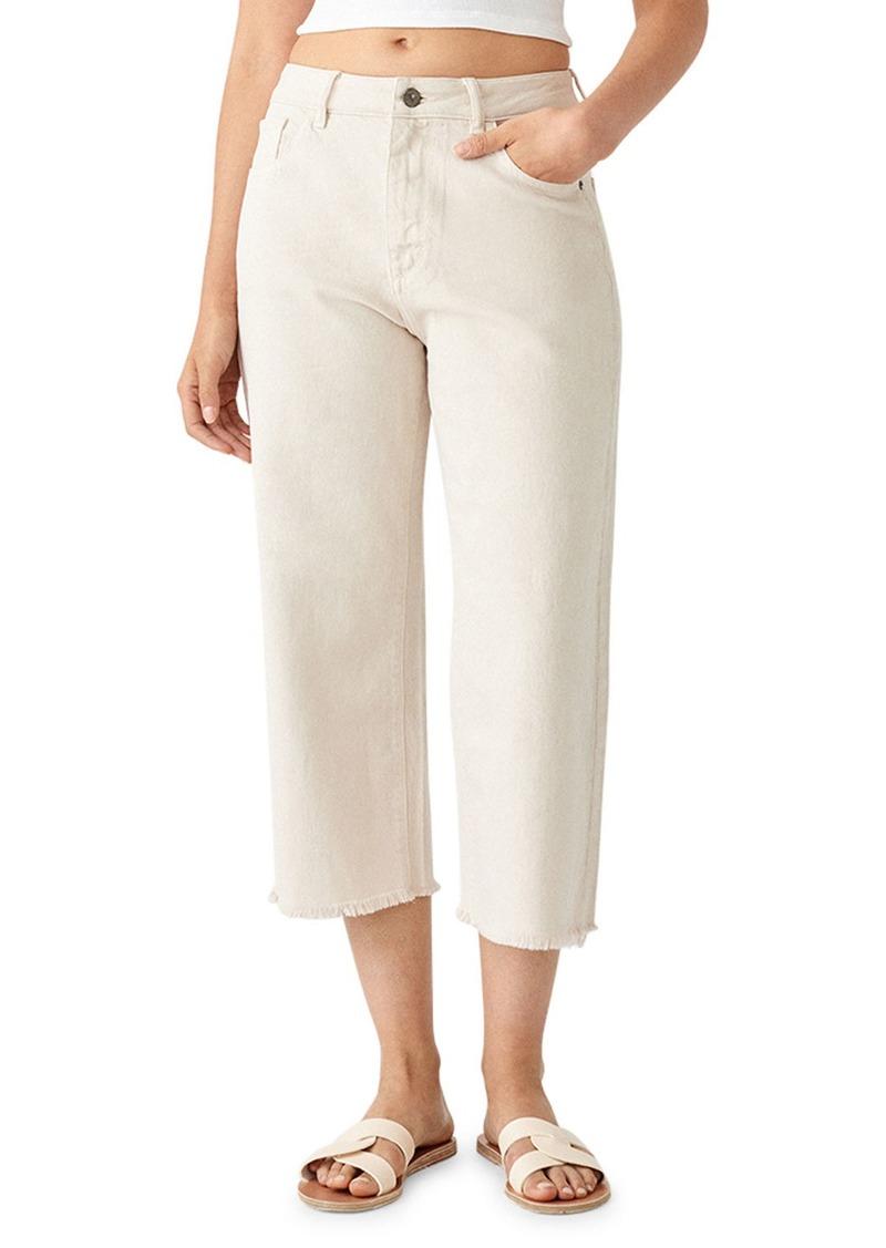 DL 1961 Hepburn Crop High-Rise Wide-Leg Jeans