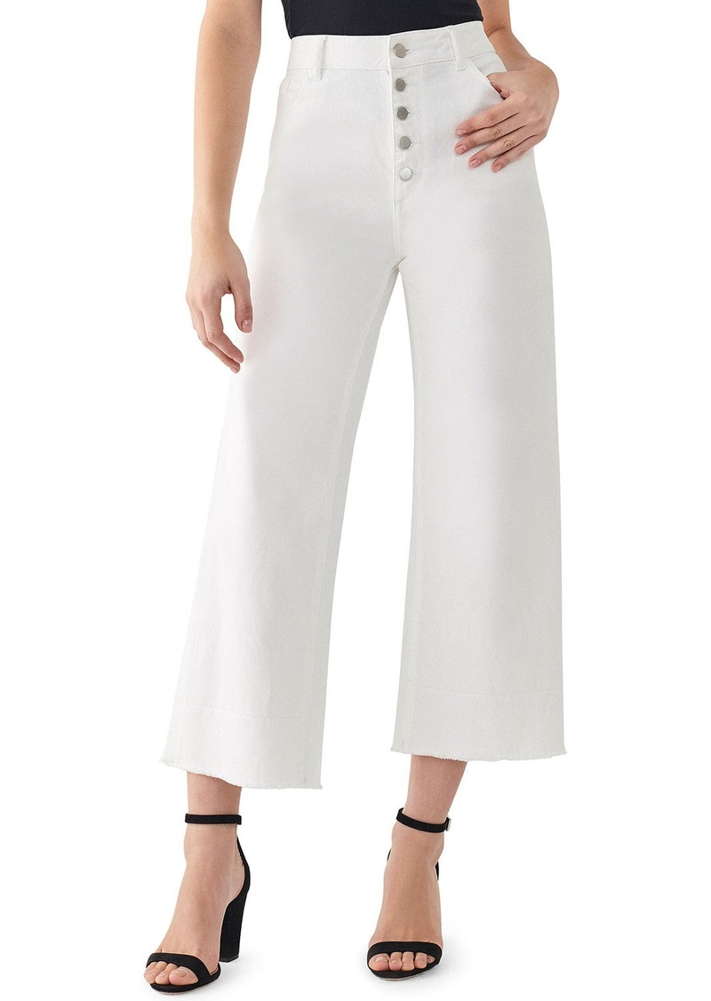 DL 1961 Hepburn High Rise Wide Leg Jeans