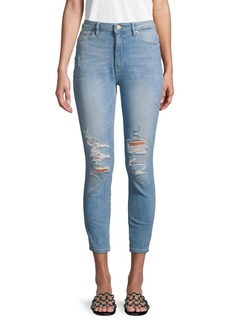 DL 1961 High-Rise Cropped Skinny Jeans