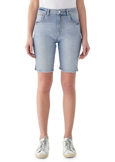 DL 1961 Jerry High-Rise Vintage Slim Bermuda Shorts