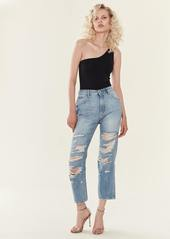 DL 1961 Jerry High Rise Vintage Straight Jeans