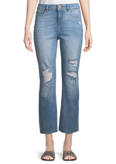 DL 1961 Jerry High-Rise Vintage Straight-Leg Jeans in Woodstock