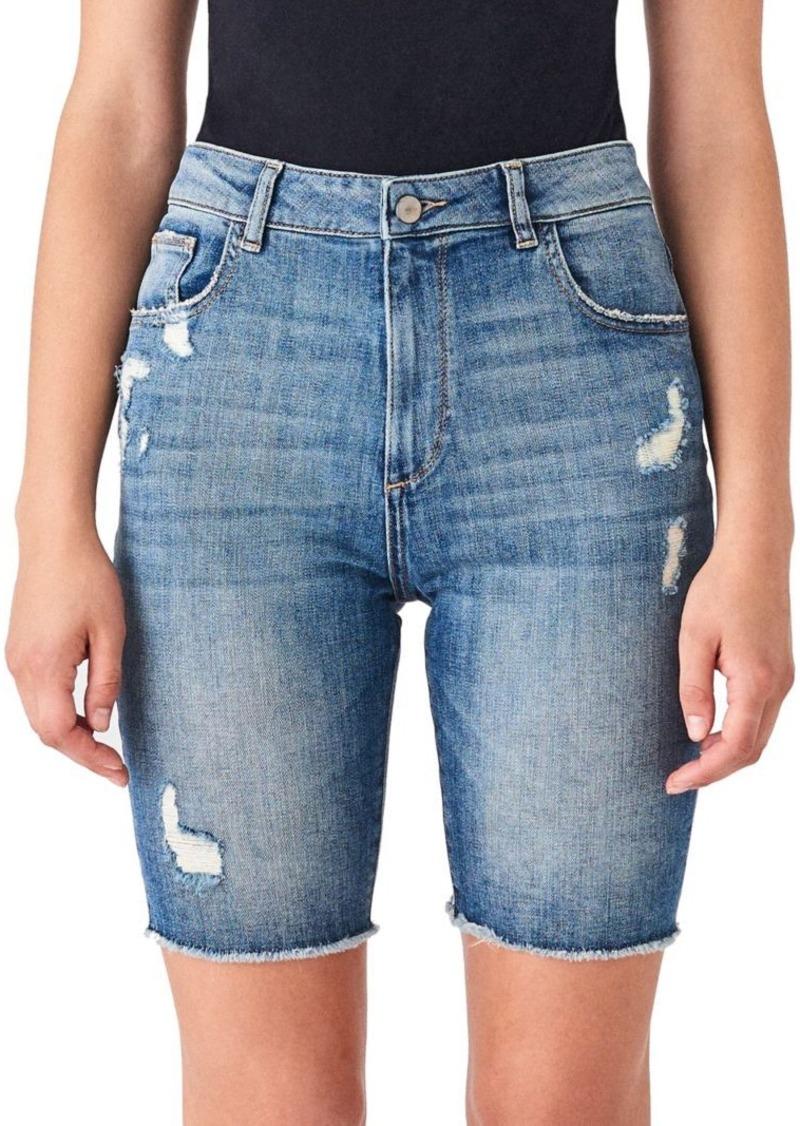DL 1961 Jerry Vintage Denim Bermuda Shorts