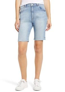 DL 1961 Jerry Vintage High Waist Bermuda Denim Shorts (Wayne)