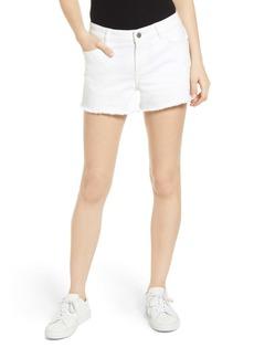 DL 1961 Karlie Cutoff Denim Boyfriend Shorts (Puro)
