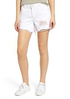 DL 1961 Karlie Ripped Boyfriend Shorts (Howard)