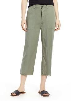 DL 1961 Lorimer High Waist Crop Straight Leg Pants