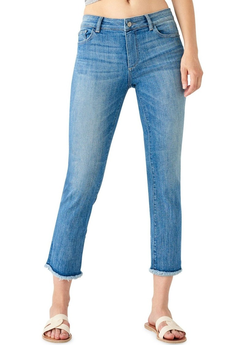 DL 1961 Mara High-Rise Straight Cropped Jeans