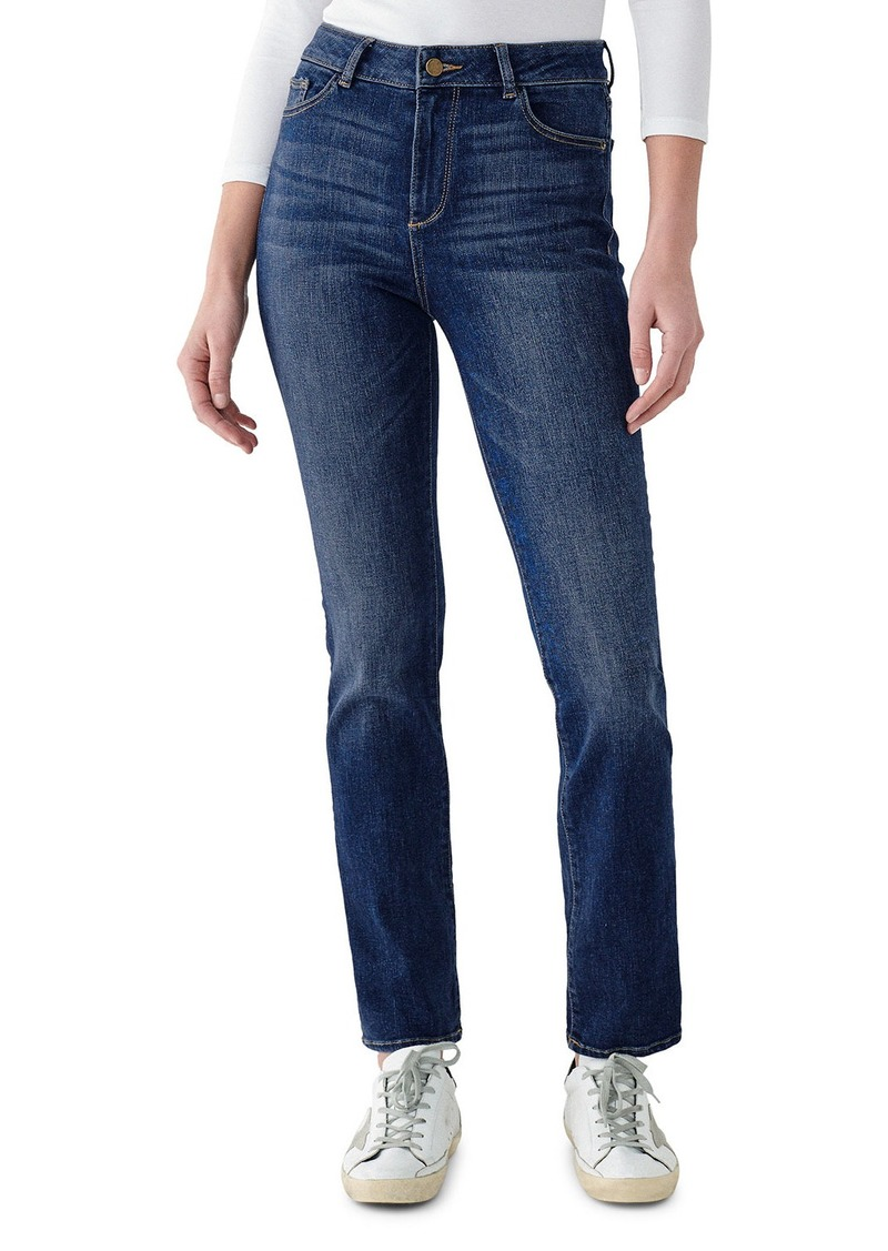 DL 1961 Mara High-Rise Straight Jeans