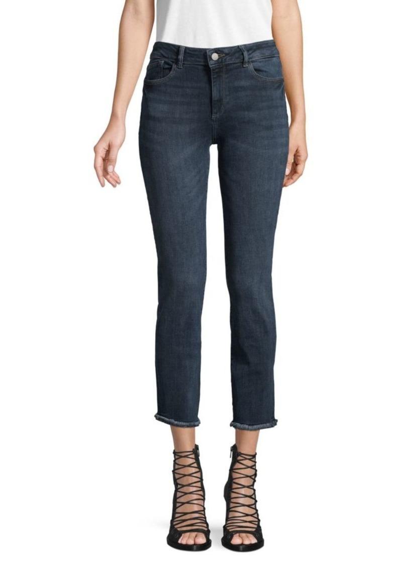 DL 1961 Mara Instasculpt Mid-Rise Ankle Jeans