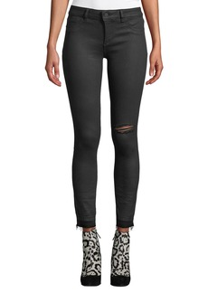 DL 1961 Margaux Instasculpt Ankle Skinny Jeans with Raw Hem