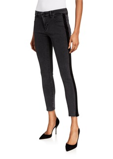 DL 1961 Margaux Instasculpt Side Tape Skinny Jeans