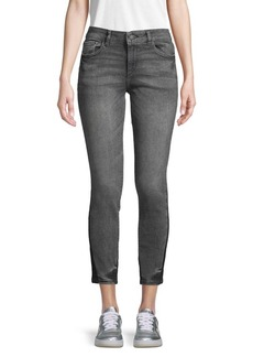 DL 1961 Mid-Rise Skinny Ankle Jeans