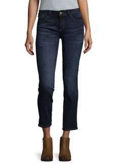 DL 1961 Mid-Rise Straight-Cut Jeans