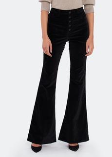 "DL 1961 ""Rachel 35"""" High Rise Flare Jeans"""