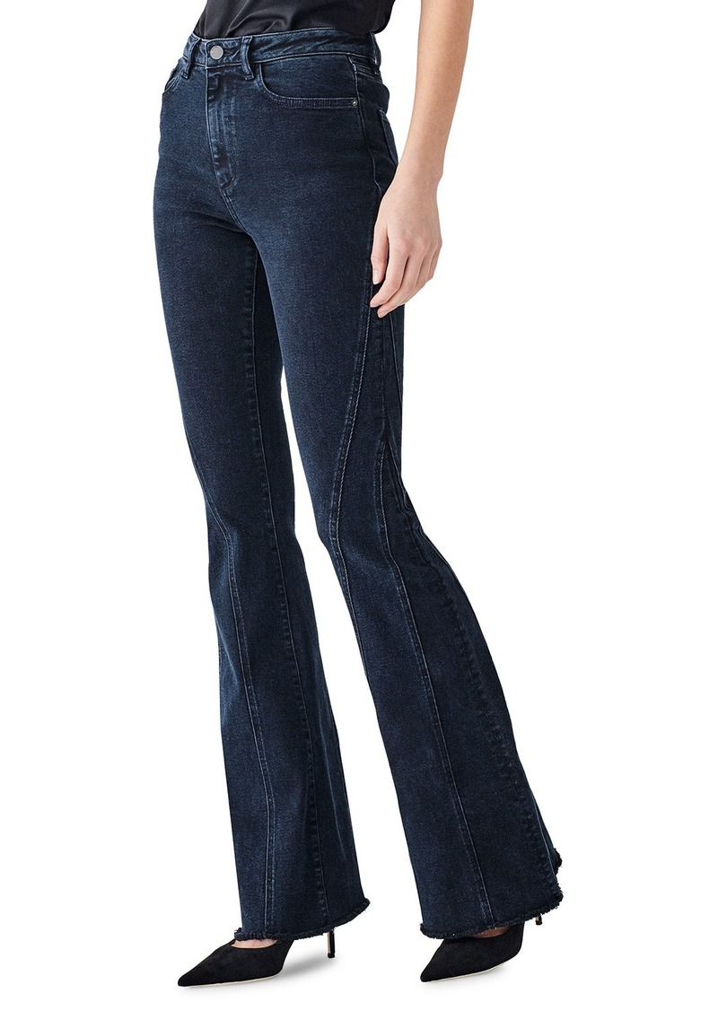 DL 1961 Rachel High-Rise Flare Jeans