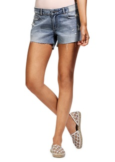DL 1961 Renee Cutoff Shorts with Step Hem