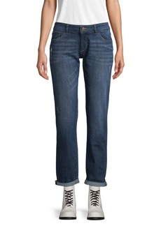 DL 1961 Riley Boyfriend Rolled Cuff Jeans