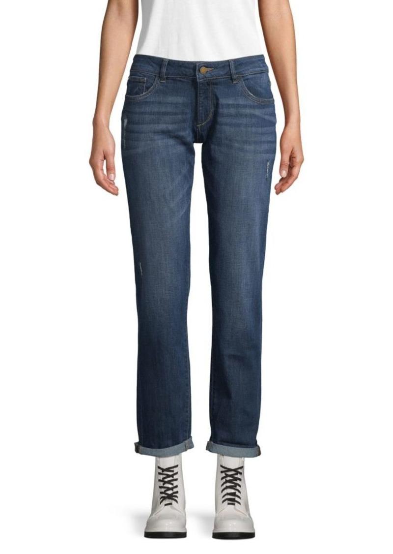 DL 1961 Riley Boyfriend Rolled Cuff Jeans
