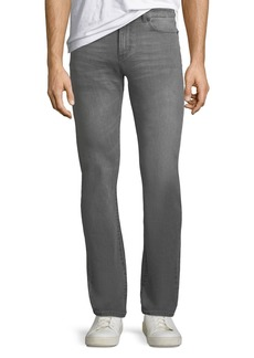 DL1961 Men's Russell Slim Straight Gray Denim Jeans
