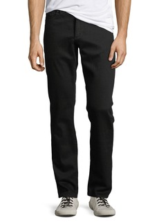 DL1961 Men's Russell Slim Straight Jeans  Black