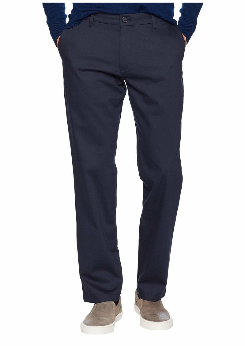 Dockers Men's Athletic Fit Signature Khaki Lux Cotton Stretch Pants navy
