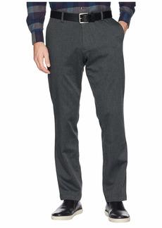 Dockers Men's Athletic Fit Signature Khaki Lux Cotton Stretch Pants charcoal heather