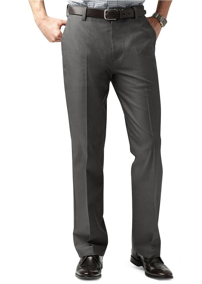 DOCKERS D2 Straight Fit Signature Flat Front Pants