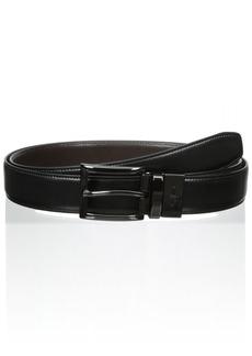 Dockers Men's 1 3/16 in. Feather-Edge Reversible Belt (Regular and Big & Tall Sizes) AmazonUs/DOCKK Black/Brown