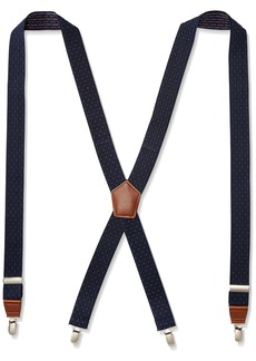 "Dockers Men's 1.25"" Dobby X-back Poly Stretch Suspender"
