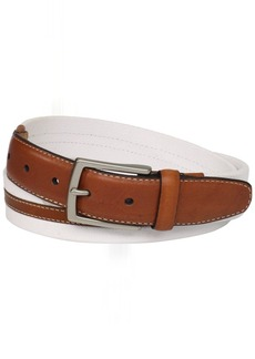 Dockers Men's 1 3/16 in. Canvas Belt with Leather Trim