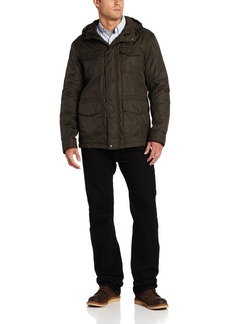 Dockers Men's 4 Pocket Field Hoody Coat