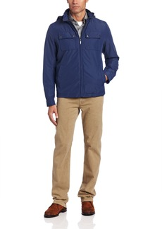 Dockers Men's Four Pocket Military Jacket