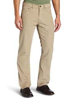 Dockers Men's 5 Pocket Khaki Corduroy D2 Straight Fit Flat Front Pant Khaki Corduroy - discontinued